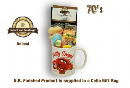 Animal Muppets Mug with/without a muppet portion of 70's Sweeties